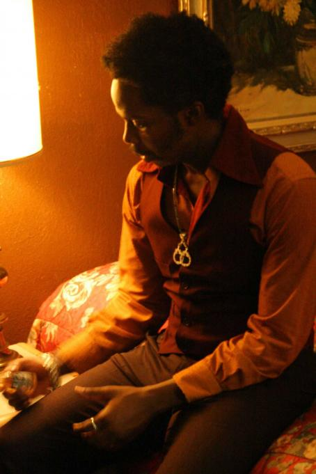 Harold Perrineau  star as Orlando in Damian Harris' Gardens of the Night.