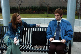 Joel David Moore Amber Tamblyn as Amber and Joel Moore as Mason in Spiral.