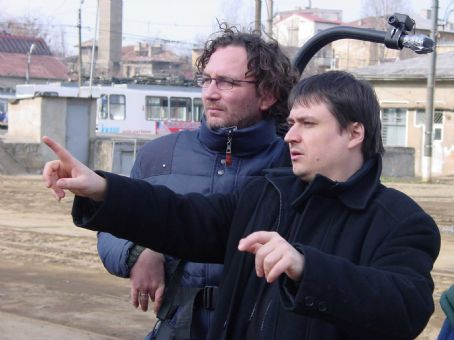 4 Months, 3 Weeks and 2 Days Cinematographer Oleg Mutu and director Cristian Mungiu in 4 MONTHS, 3 WEEKS AND 2 DAYS directed by Cristian Mungiu. An IFC First Take release.