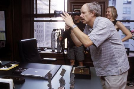 Christopher Guest Director  on the set of Castle Rock Entertainments documentary-style comedy 'A Mighty Wind,' distributed by Warner Bros. Pictures.