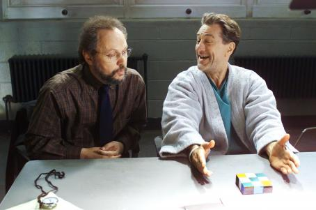 Billy Crystal  and Robert De Niro in Warner Brothers' Analyze That - 2002