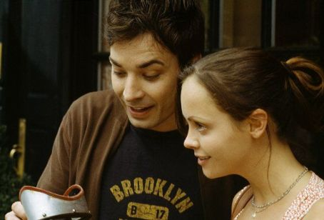 Jimmy Fallon  and Christina Ricci in Woody Allen's latest comedy Anything Else.