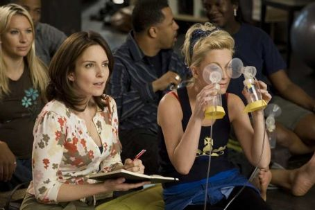 Amy Poehler Tina Fey as Kate and  as Angie in Universal Pictures' Baby Mama.