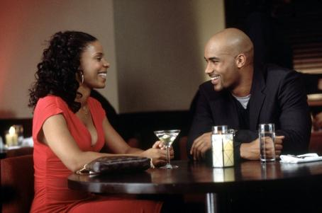Boris Kodjoe Sanaa Lathan and  in Fox Searchlight's Brown Sugar - 2002