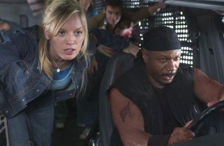 Ving Rhames Sarah Polley and  in Dawn of the Dead - 2004