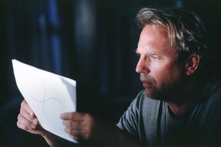 Dragonfly Kevin Costner in Universal's  - 2002