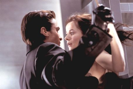Emily Watson Christian Bale and  in Miramax's Equilibrium - 2002