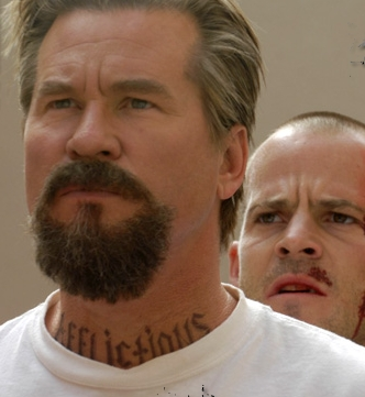 Felon Val Kilmer as John Smith and Stephen Dorff as Wade Porter in Sony Pictures' .