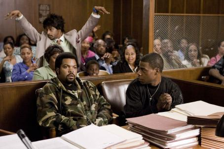 Tracy Morgan ICE CUBE (left), KATT WILLIAMS (center) and TRACY MORGAN (right) star in Screen Gems' comedy FIRST SUNDAY. Photo by: Tony Rivetti Jr. © 2007 Screen Gems, Inc. All Rights Reserved.