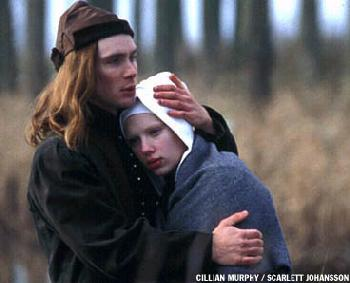Girl with a Pearl Earring Cillian Murphy and Scarlett Johansson in  - 2003