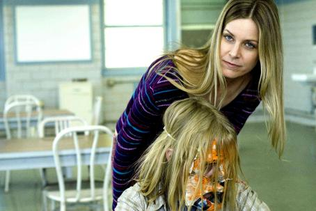 Sheri Moon Zombie  (Deborah Myers) and Daeg Faerch (Young Michael Myers) star in Rob Zombie's Halloween. Photo by: Marsha Blackburn LaMarca/Dimension Films, 2007