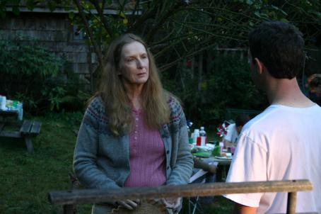Frances Conroy  and Jeremy Strong in HUMBOLDT COUNTY, a Magnolia Pictures release. Photo courtesy of Magnolia Pictures.