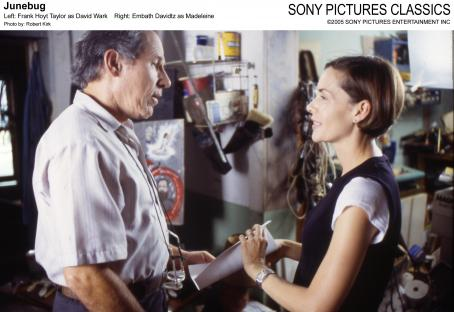 Embeth Davidtz Left: Frank Hoyt Taylor as David Wark; Right:  as Madeleine; Photo by: Robert Kirk.