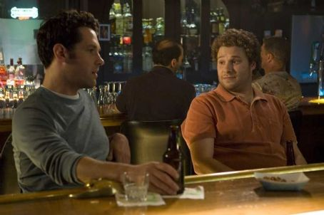 Knocked Up Paul Rudd as Pete and Seth Rogen as Ben Stone in  - 2007