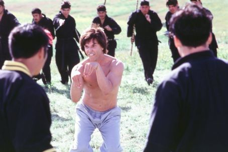 Kung Pow: Enter the Fist The Chosen One (Steve Oedekerk) enjoys making funny faces and weird hand movements when fighting a deadly team of assassins in 20th Century Fox's Kung Pow!: Enter The Fist - 2002