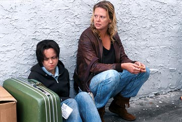 Monster Christina Ricci and Charlize Theron in  - 2003