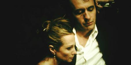 Stephen Dillane Holly Hunter as Sonia and  as Martin in NINE LIVES, a film by Rodrigo Garcia, a Magnolia Pictures Release.