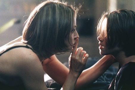Panic Room Jodie Foster as Meg Altman and Kristen Stewart as her daughter, Sarah in Columbia's  - 2002