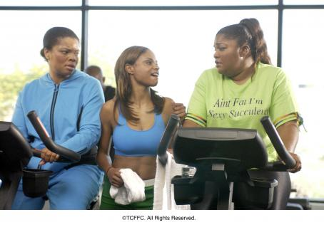 Mo'Nique Kendra C. Johnson, Joyful M'Chelle Drake and Monique Imes in Fox Searchlight's Phat Girlz - 2006