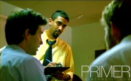 Anand Upadhyaya as Phillip in ThinkFilm's drama and thriller movie Primer.