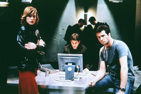 James Purefoy Milla Jovovich, Martin Crewes and  in Screen Gems' Resident Evil - 2002