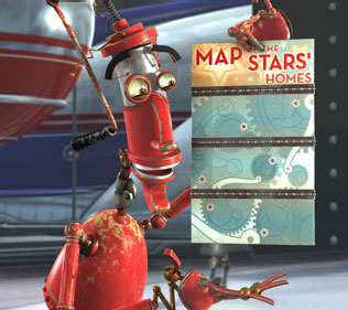 Robots Fender (voiced by Robin Williams) in Chris Wedge and Carlos Saldanha's  distibuted by Twentieth Century Fox - 2005.