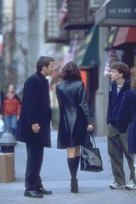 Roger Dodger Campbell Scott and Jesse Eisenberg in Artisan's  - 2002