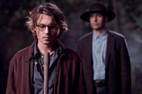 John Turturro Johnny Depp and  in Secret Window - 2004