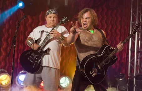 Kyle Gass Left:  as KG; Right: Jack Black as JG and directed by Liam Lynch.