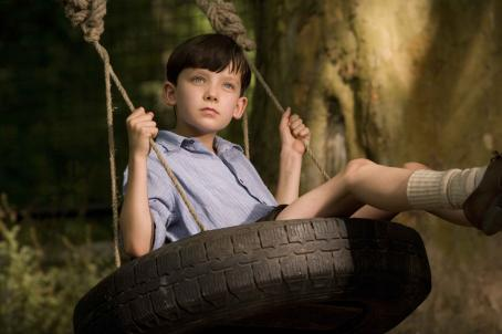 Asa Butterfield  as Bruno. Photo Credit: David Lukacs/Miramax Films.