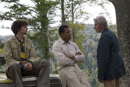 Jesse Eisenberg , Terrence Howard and Richard Gere star in Richard Sheperd's The Hunting Party. Courtesy of The Weinstein Company, 2007/Karen Ballard