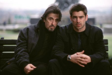 The Recruit Recognizing James Clayton (Colin Farrell, right) to have the natural talent required of a potential spy, CIA recruiter Walter Burke (Al Pacino, left) taps him to join the country's most clandestine organization.