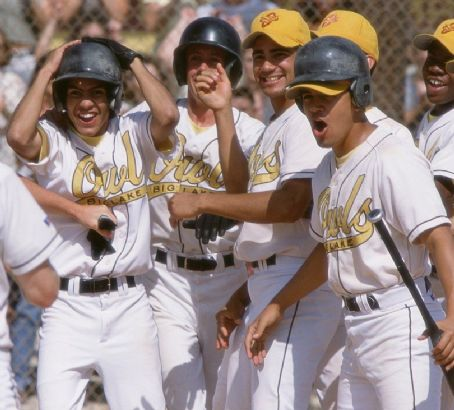 The Rookie Rick Gonzalez and Jay Hernandez in Walt Disney's  - 2002
