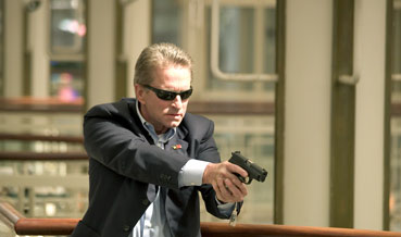 The Sentinel Michael Douglas is Agent Pete Garrison in , a 2006 crime movie from 20th Century Fox