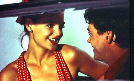 The Singing Detective Katie Holmes and Robert Downey Jr. in  - 2003