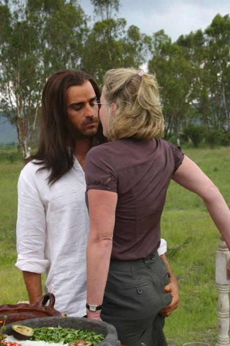 The Ten Justin Theroux as Jesus and Gretchen Mol as Gloria in  - 2007