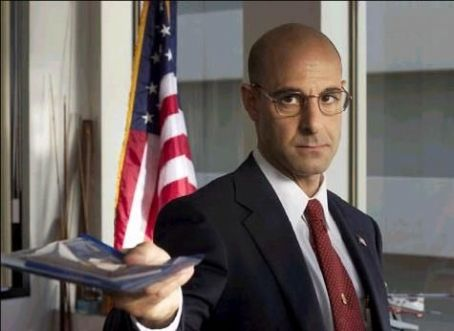 Stanley Tucci  as Frank Dixon in Steven Spielberg's The Terminal - 2004
