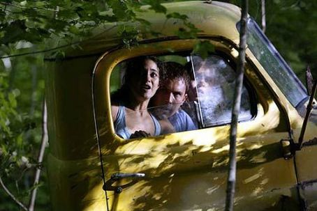 Wrong Turn Eliza Dushku and Desmond Harrington in 20th Century Fox's  - 2003