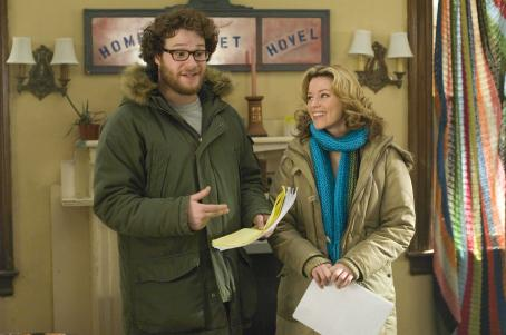 Zack and Miri Make a Porno Seth Rogen as Zack and Elizabeth Banks as Miri in The Weinstein Company drama romance '.'