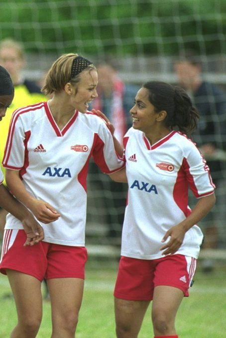 Bend It Like Beckham Left to Right: Keira Knightley and Parminder Nagra