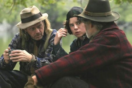 Charlie McDermott Bill Raymond as Compton and  as Wild Bill Bonhomme camp in Jay Craven 'Disappearances'
