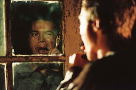 Michael Shannon Peter Evans () in William Friedkin's BUG. Photo credit: Anthony Friedkin
