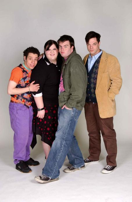 Fat Girls Robin DeJesus (Rudy), Ashley Fink (Sabrina), Ash Christian (Rodney) and Jonathan Caouette (Seymour Cox) in  - 2007