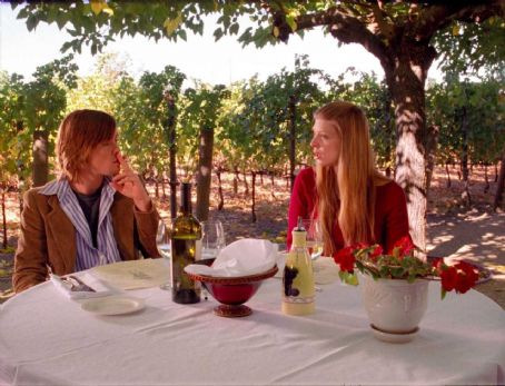 Amber Benson Nathan (Cole Williams) and Maggie () in restaurant of Race You to the Bottom - 2007