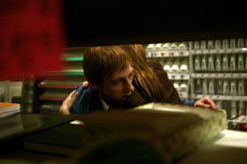 Joel David Moore Joel Moore star as Mason in Spiral.