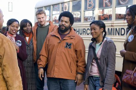 Dash Mihok Jill Marie Jones (Ronnie),  (Cyrus), Ice Cube (Curtis), Keke Palmer (Jasmine) and Tasha Smith (Claire) star in Fred Durst's The Longshots. Photo by: Tony Rivetti Jr./Dimension Films, 2008