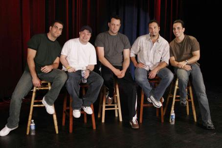 John Caparulo (From left to right) Bret Ernst, , Vince Vaughn, Ahmed Ahmed and Sebastian Maniscalco in Vince Vaughn's Wild West Comedy Show © 2007 Picturehouse