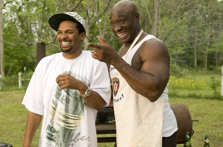 Welcome Home, Roscoe Jenkins Mike Epps and Michael Clarke Duncan in Malcolm D. Lee comedy 'Welcome Home Roscoe Jenkins'