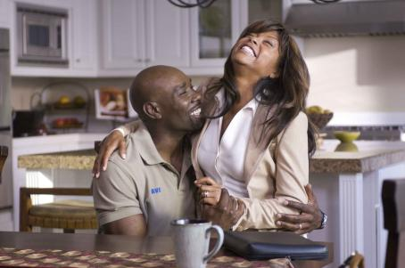 Morris Chestnut  as 'Dave Johnson' and Taraji P. Henson as 'Clarice Clark' in TriStar Pictures' drama NOT EASILY BROKEN. Photo By: Ron Phillips