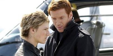 Alex Pettyfer as Alex Rider and Damian Lewis as Yassen Gregorovich in Alex Rider: Operation Stormbreaker - 2006. Based story of Alex Rider novels by Anthony Horowitz.